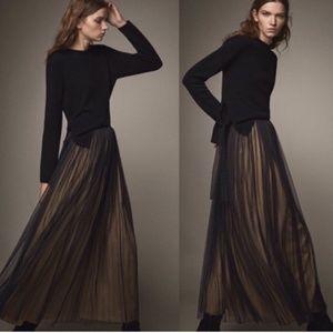 COPY - 🌹NWT Massimo Dutti Black Tulle Maxi Skirt